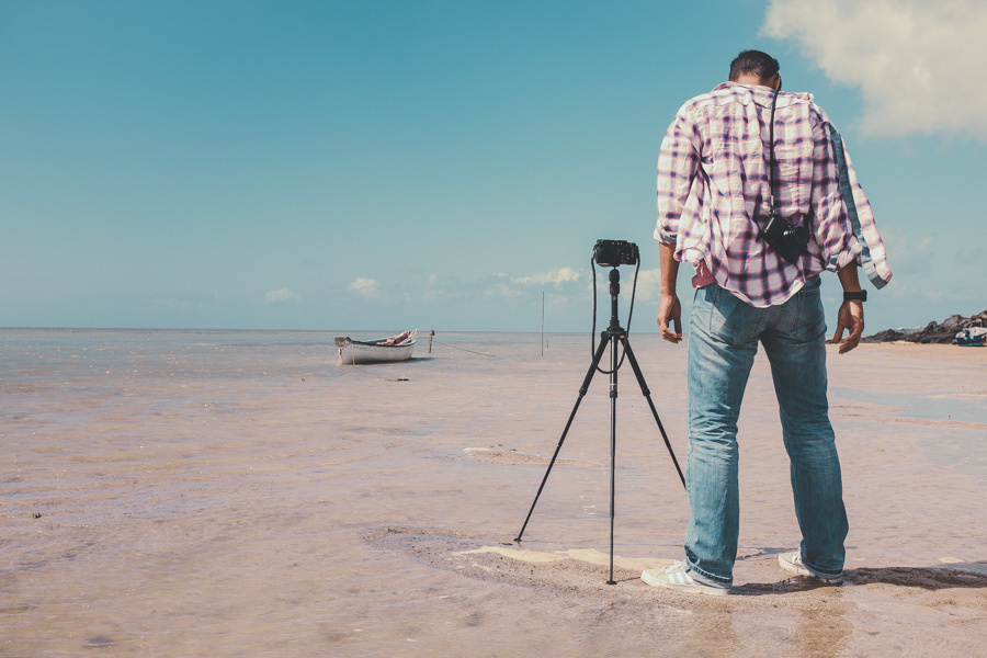 Photographing the ocean