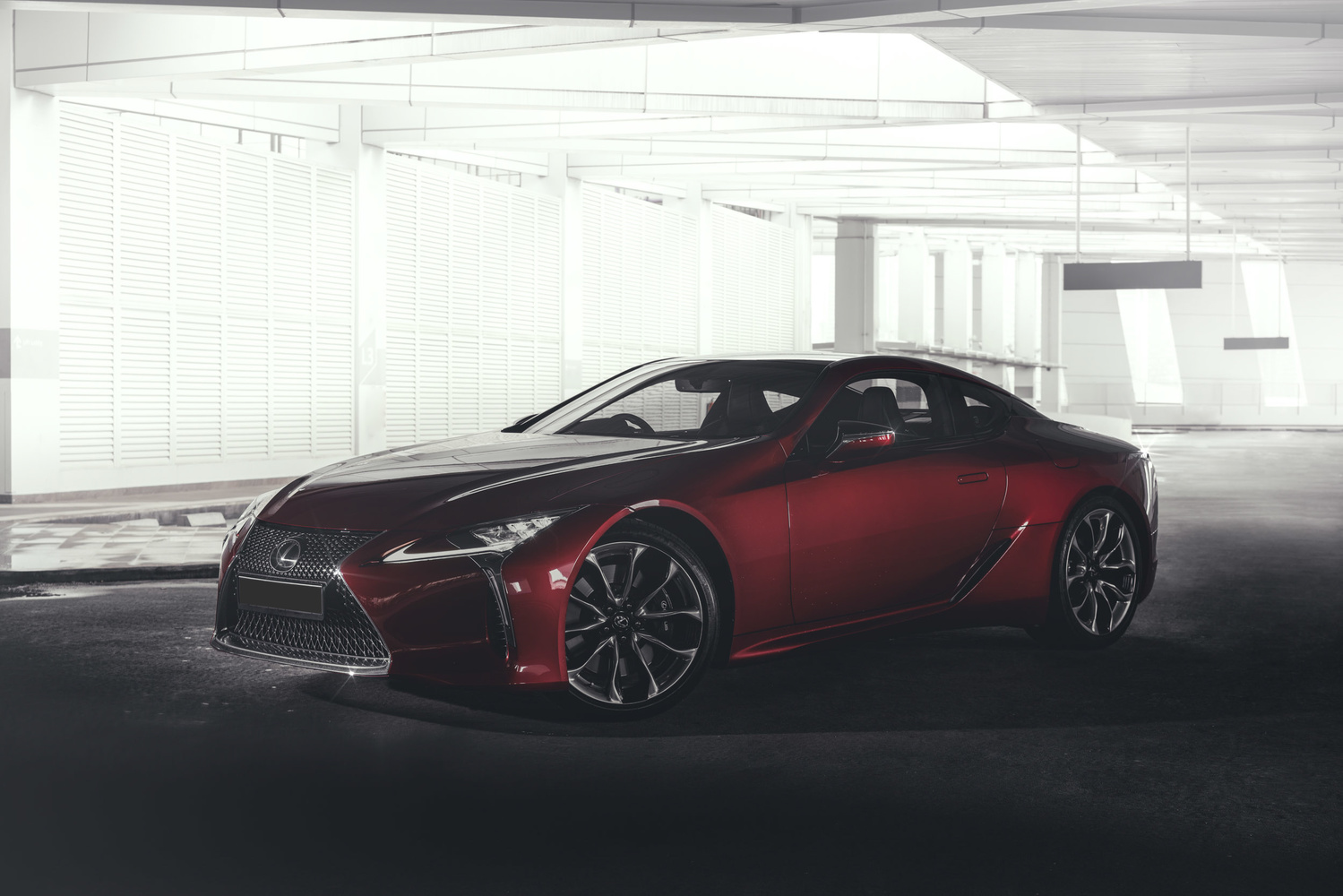 Eric Chen rr Lexus LC 500 image photograph after