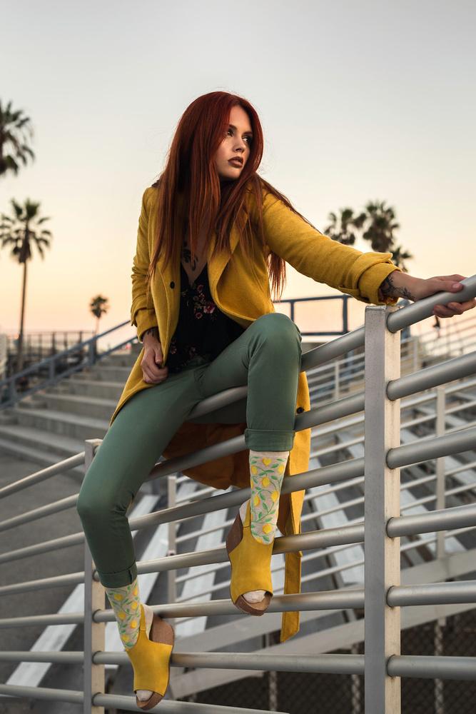 Emily Teague Los Angeles Photo Fashion Editorial Image