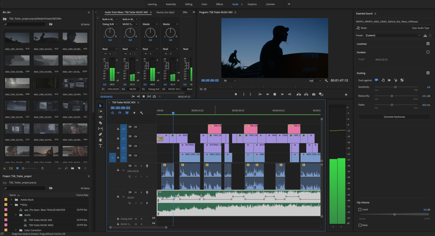 adobe updates premiere pro audition after effects and character