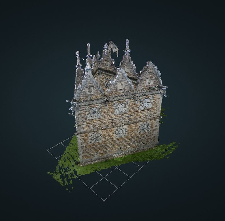 Rushden Triangular Lodge in 3D
