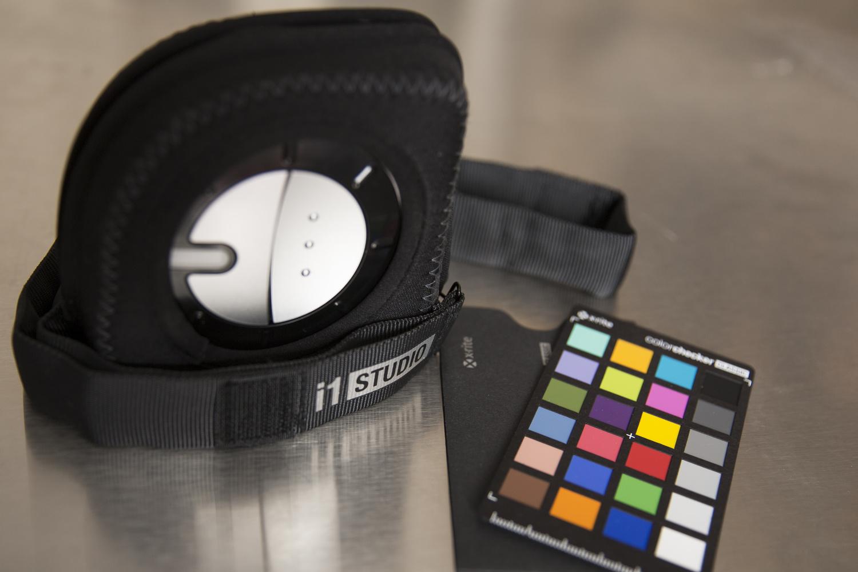 X-Rite i1Studio Spectrophotometer and Mini Colorchecker Classic