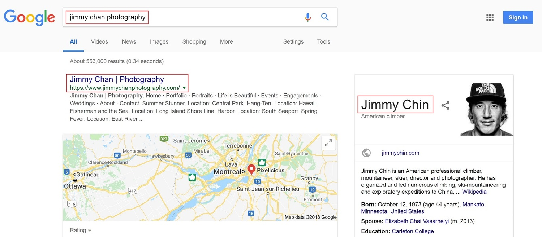 Desktop search for Jimmy Chan Photographer