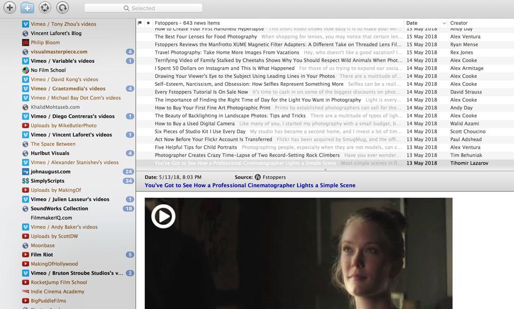 NetNewsWire: RSS/Atom news feed application