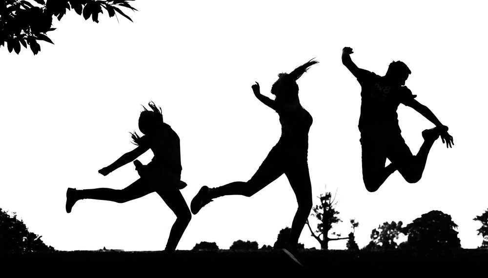 The power of silhouettes for family