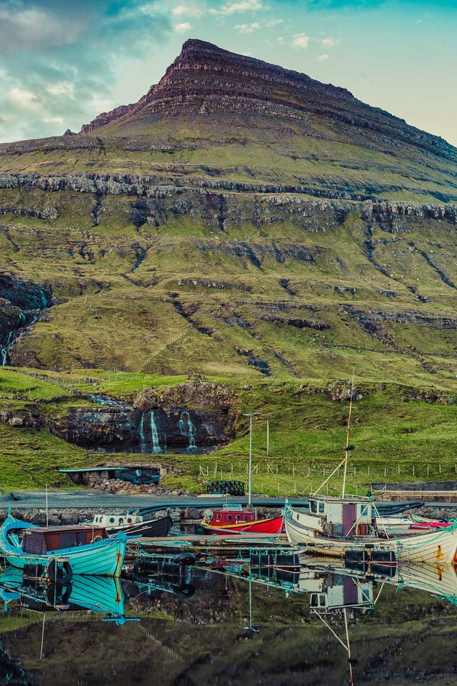 Faroese Fishing Boats