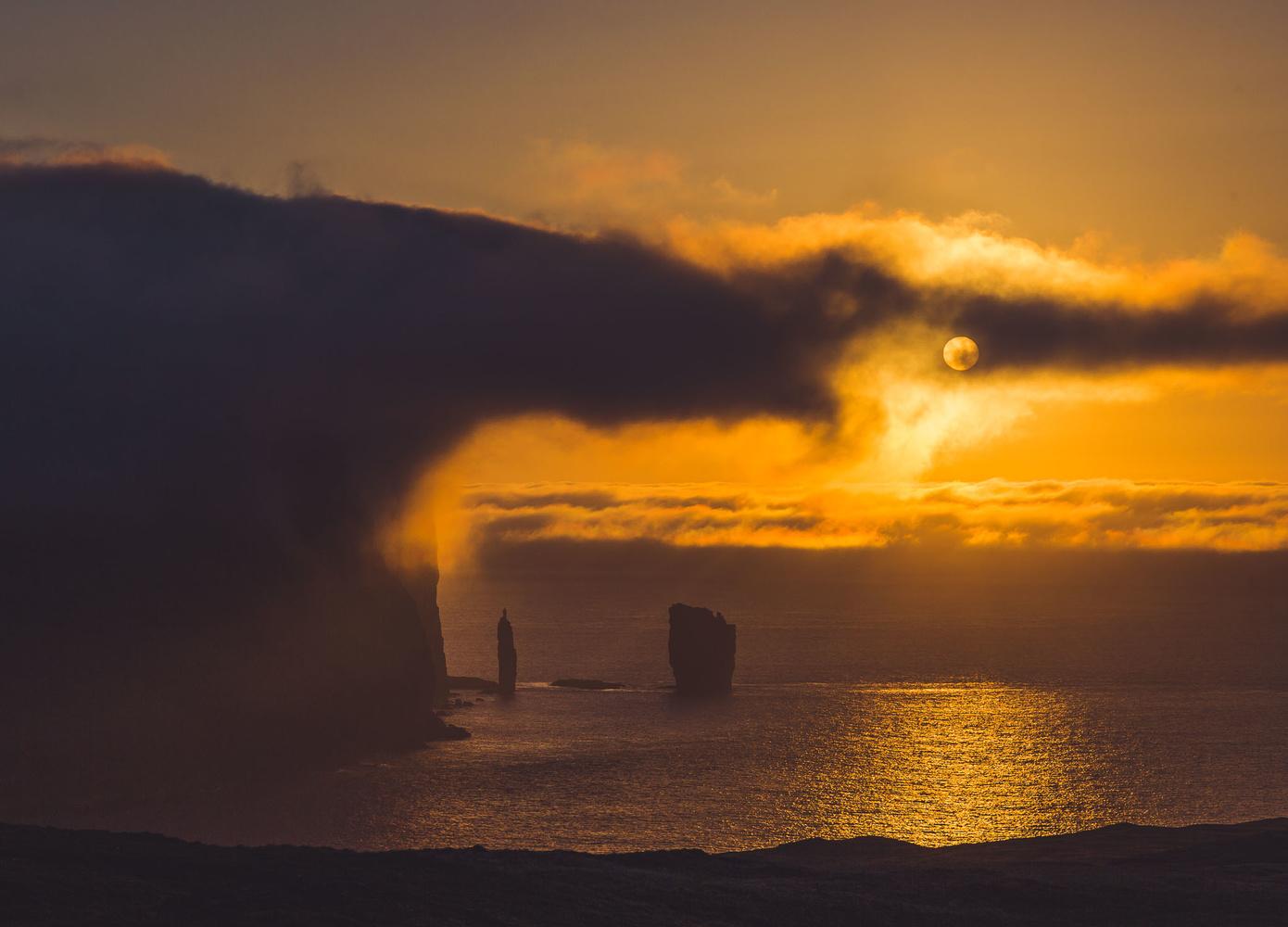 Sunrise from Eidi