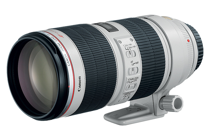Canon 70-200mm f/2.8L IS II lens