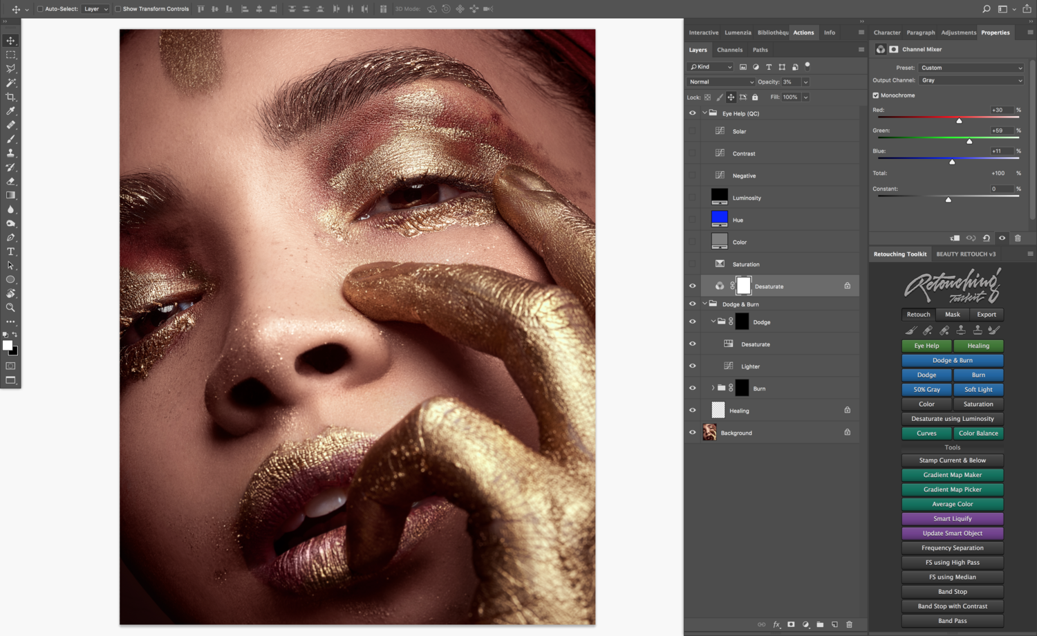 Fstoppers Reviews the Retouching Toolkit: The Most