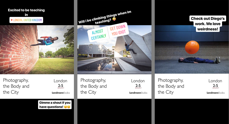 Examples of Instagram Stories