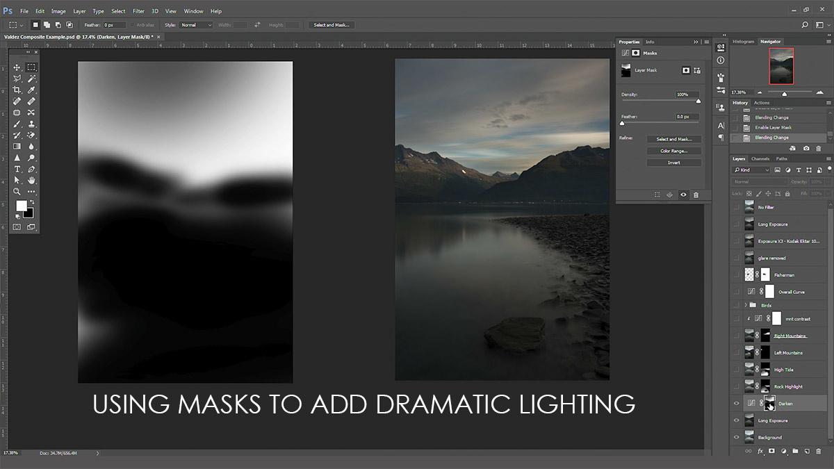 How I Blended Multiple Landscape Photos In Alaska Fstoppers