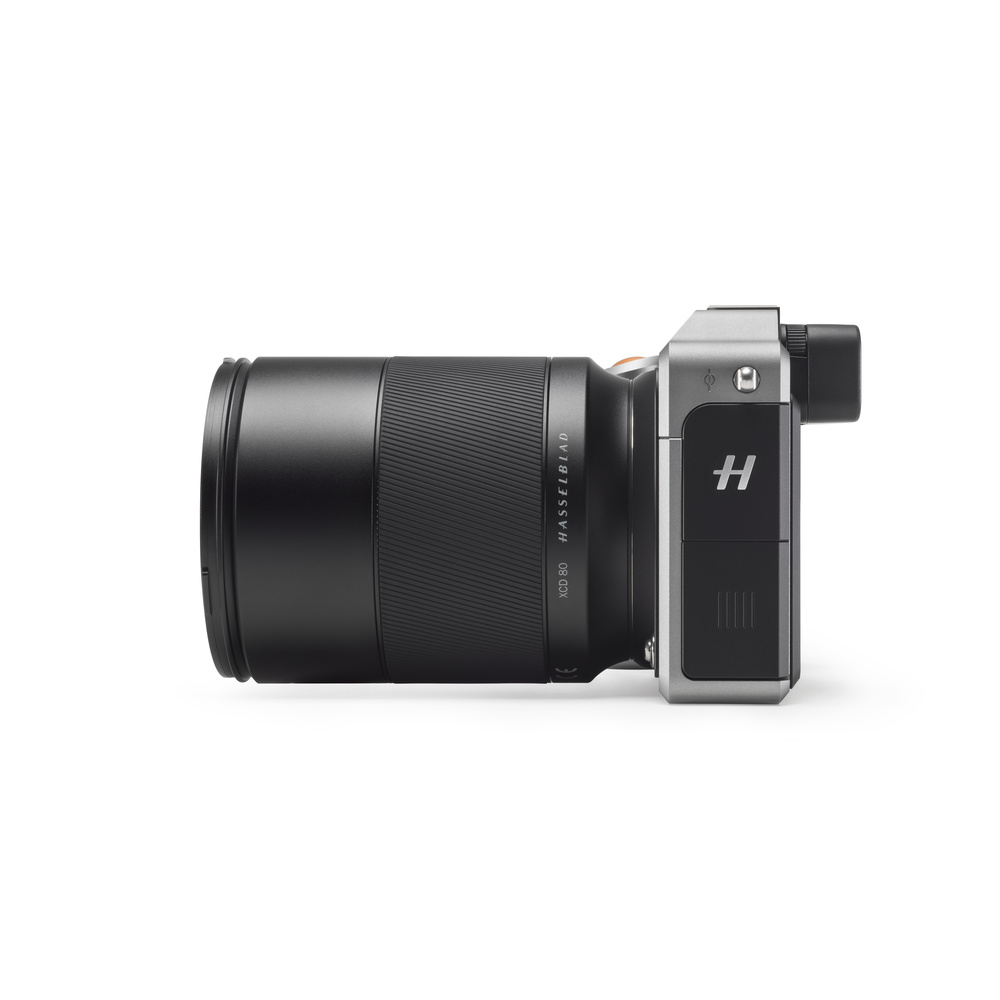 Hasselblad X1D & 80mm 1.9 Side View
