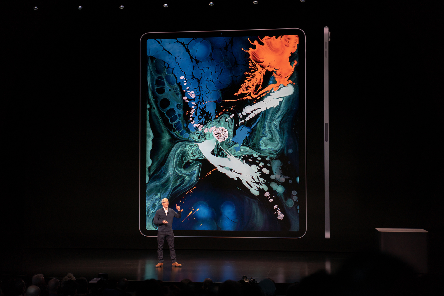 Apple Announces the New iPad Pro, Demos Full Version of