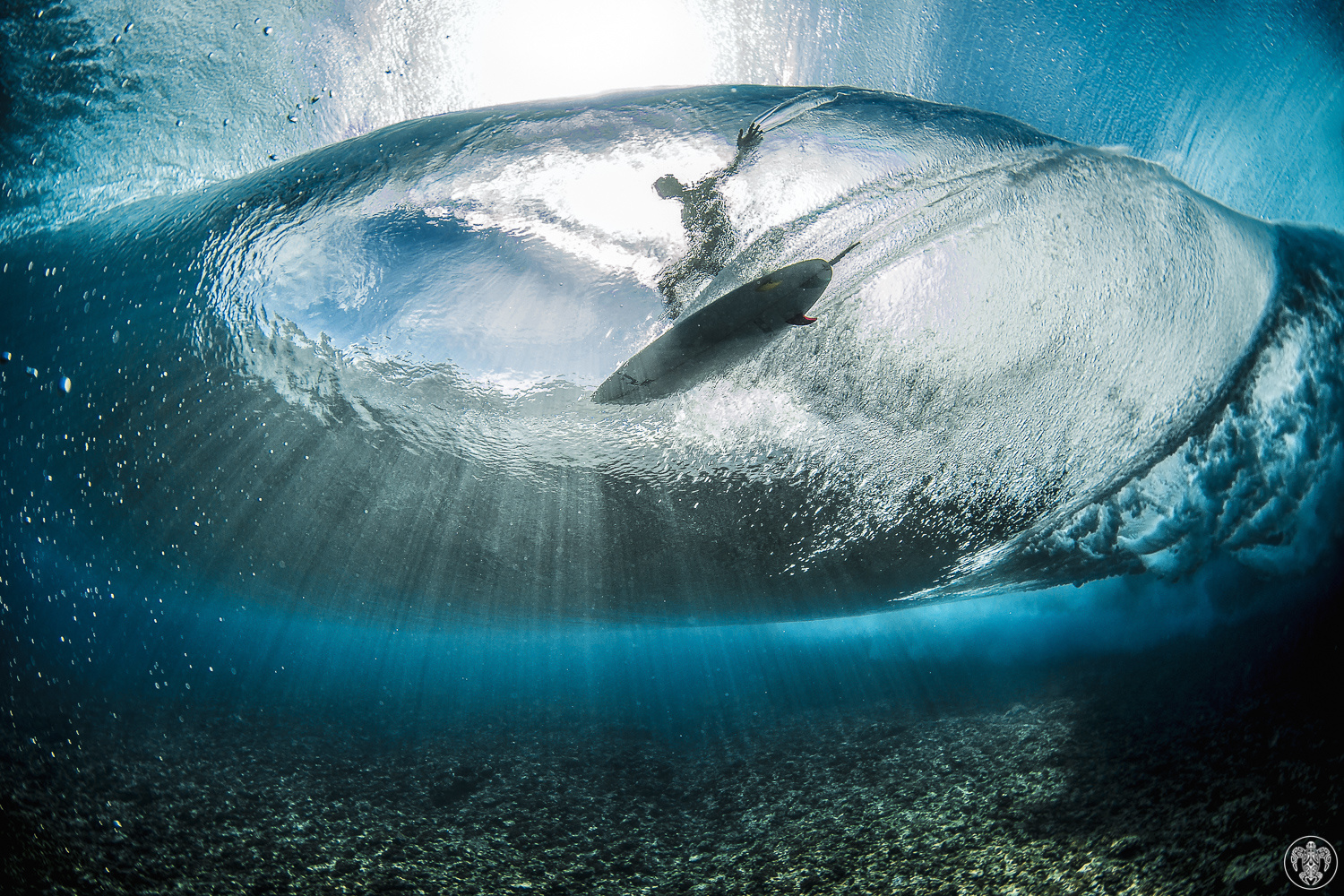 ben thouard, tahiti, wave, surf photography, underwater photography