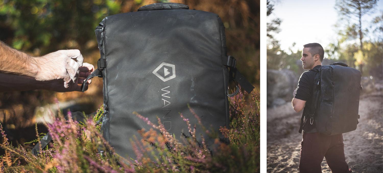 WANDRD HEXAD duffel camera bag review bouldering