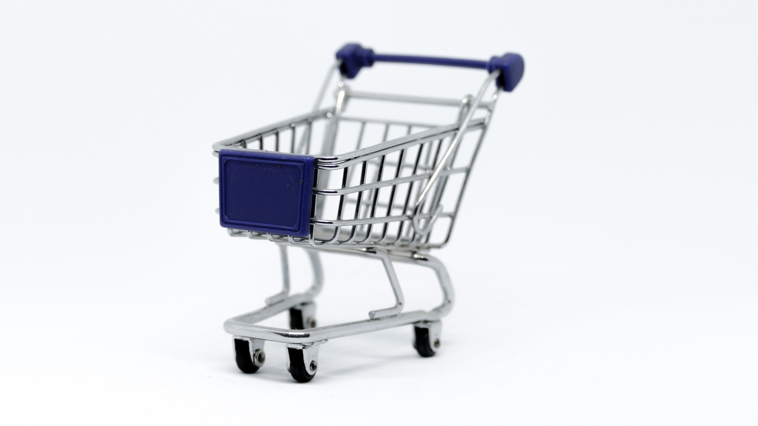 Try and keep your shopping cart small, if possible.