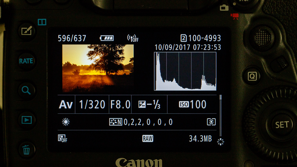 Be Careful of the Brightness of the LCD of Your Camera