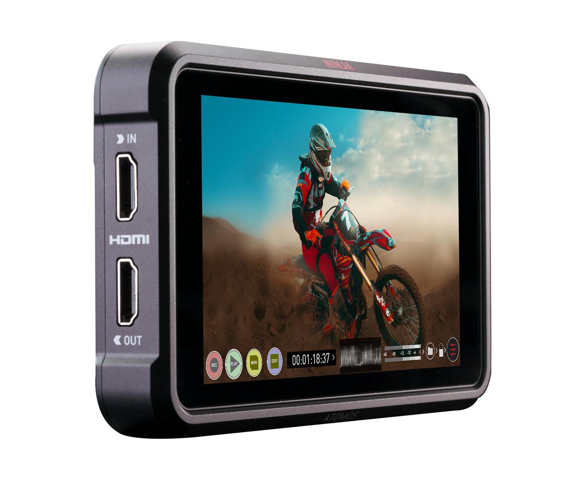 Atomos Ninja V 4k 60p monitor recorder