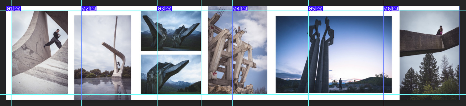 Instagram carousel tool, slicing into 1080 pixel segments