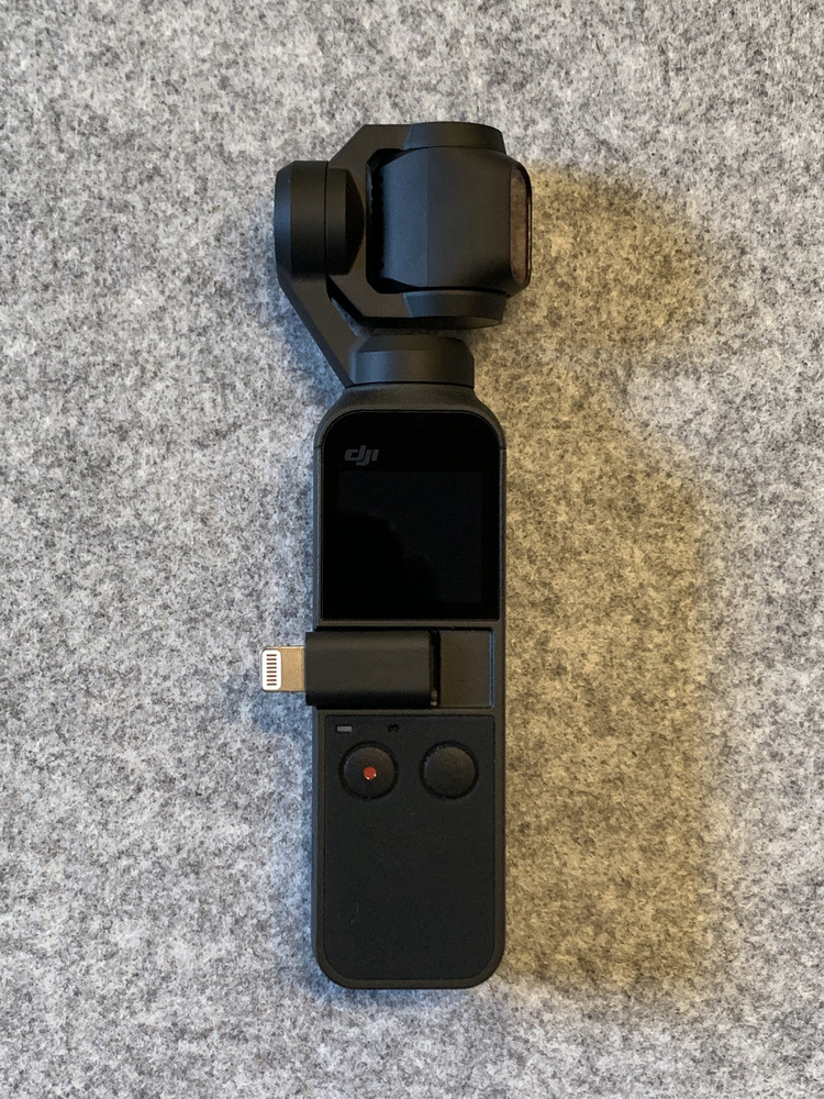 Wireless Module on DJI Pocket Osmo