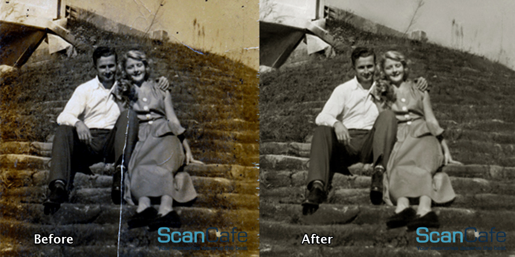 photo restoration, preserving memories