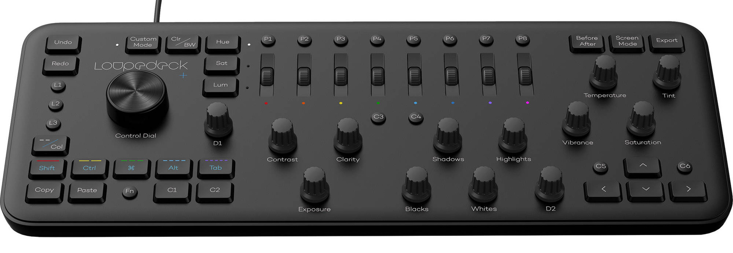 As You Can See The Loupedeck Covers A Range Of Functions And Features That One Regularly Uses In Library Develop Modules Including Everything