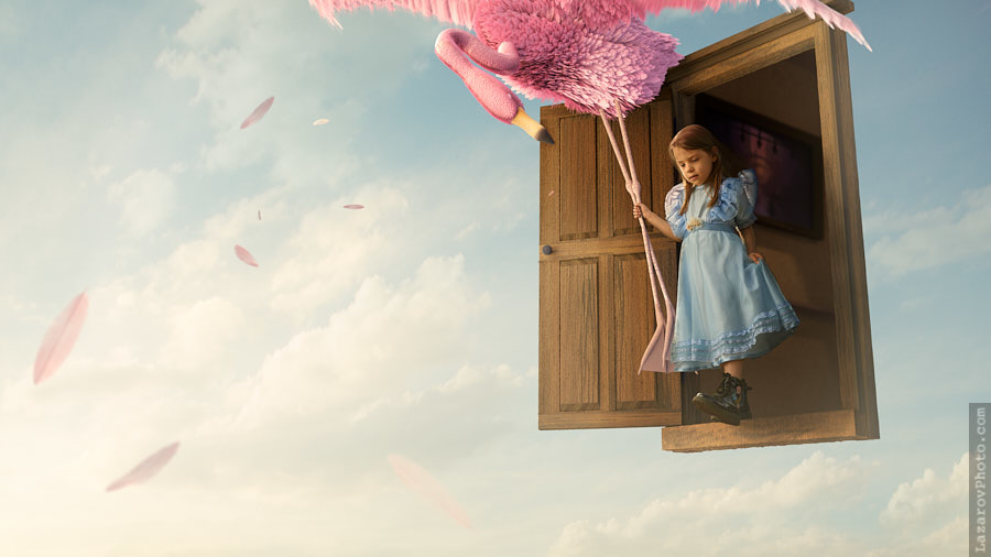 Alice in Wonderland - Door in the Clouds