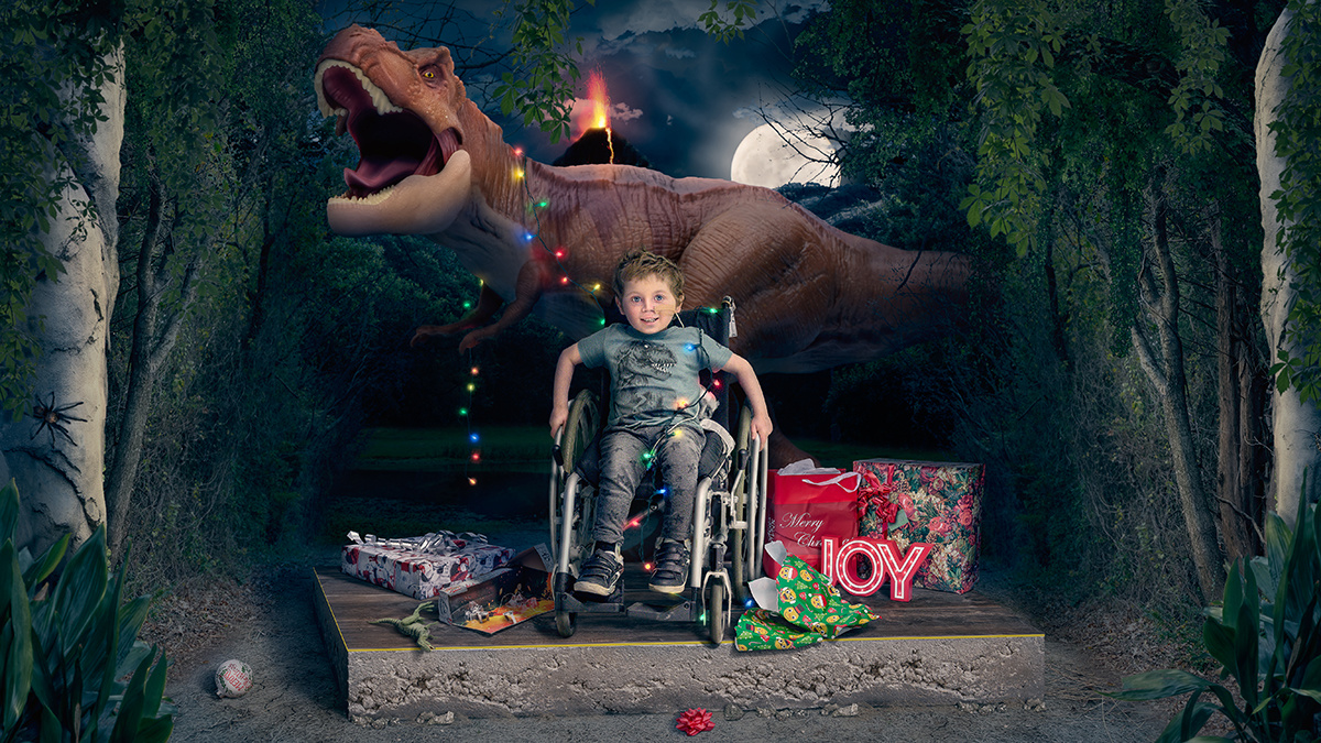 Christmas T-Rex Child Gifts
