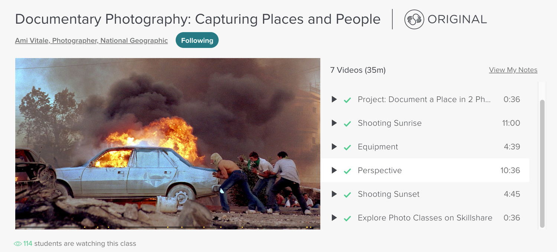 Ami Vitale Skillshare photography lesson