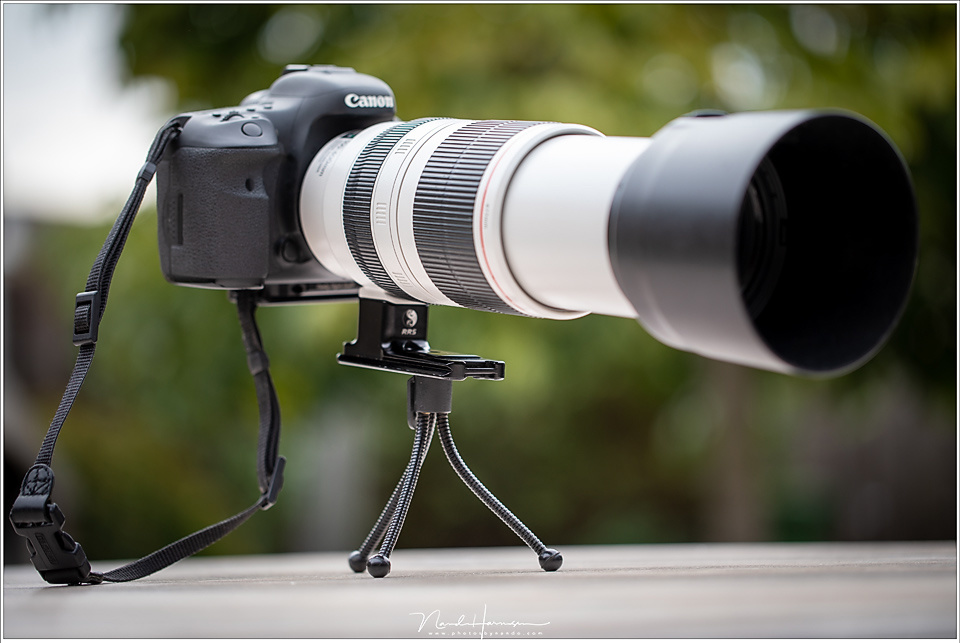 Make sure your tripod can carry the weight and remember, it doesn't have to be the same as the maximum carry weight of a ballhead.