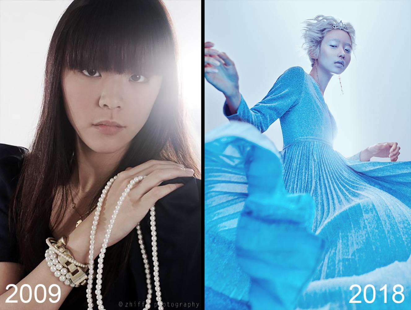 Shavonne Wong's incredible 2009 vs 2018 comparison