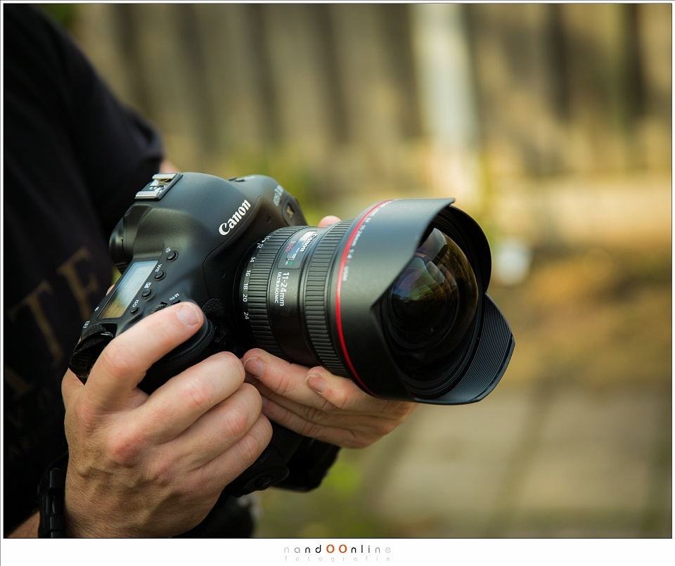 Some lenses do not accept any filter, like this huge Canon EF 11-24mm I reviewed a few years ago.