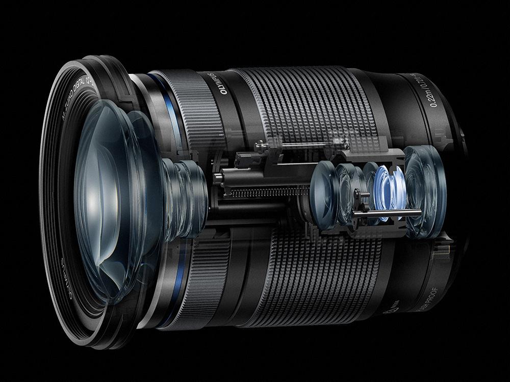 Olympus 12-200mm lens