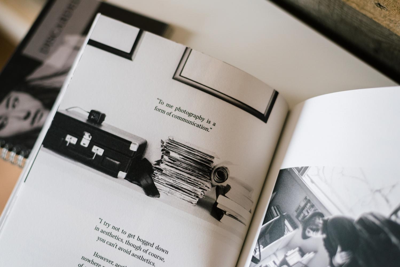 An open photobook