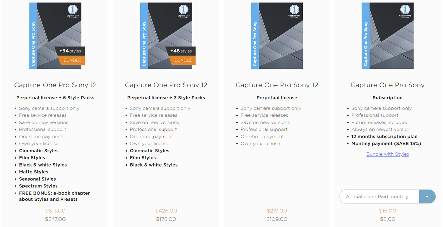 Deep Discount on Capture One Pro 12 for Sony Cameras | Fstoppers