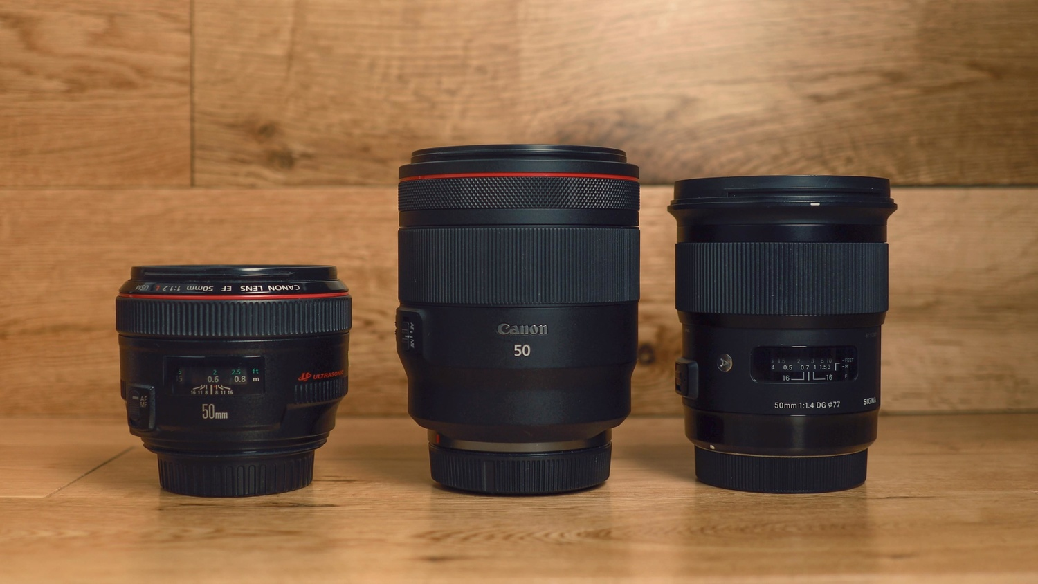 Probably the Best 50mm Lens Ever Made: Canon RF 50mm f/1 2L Versus
