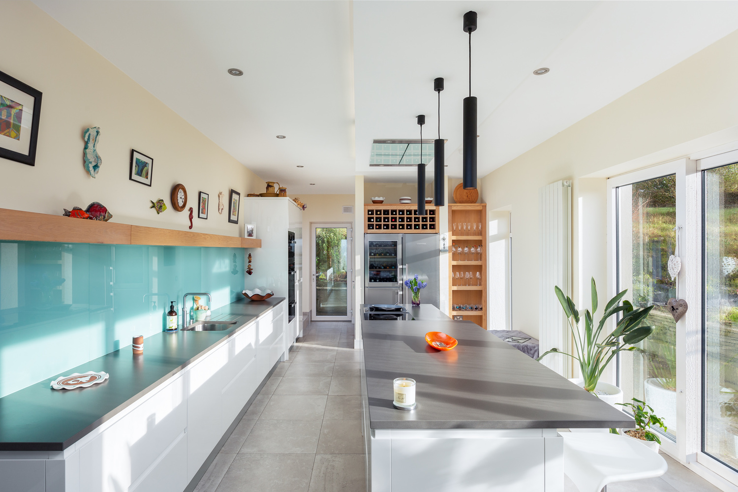 professional photography of a contemporary kitch