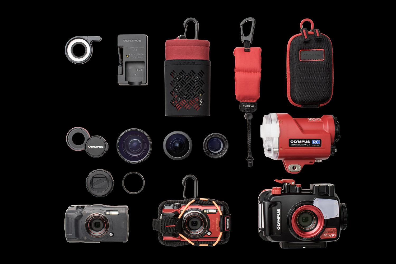 accessories for the olympus TG-6