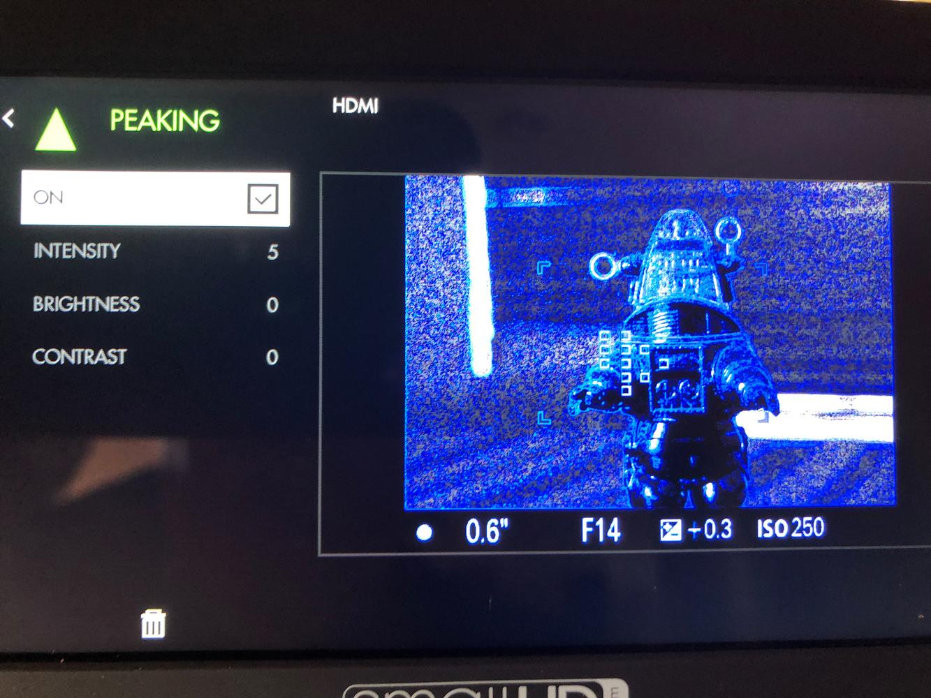 How Useful Is an External Field Monitor for Stills