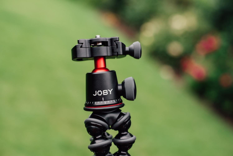 Black Joby tripod