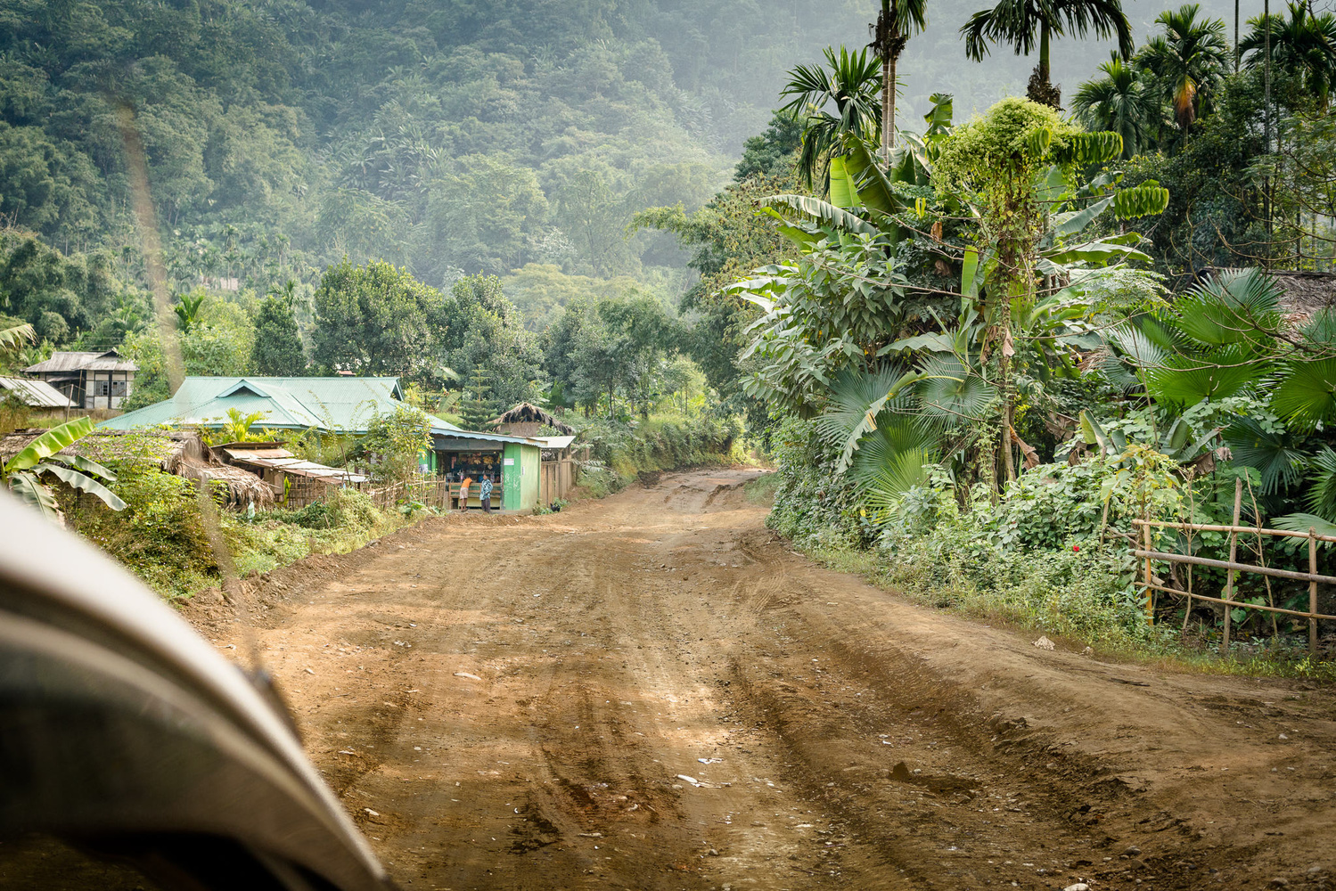 Off road in Nagaland