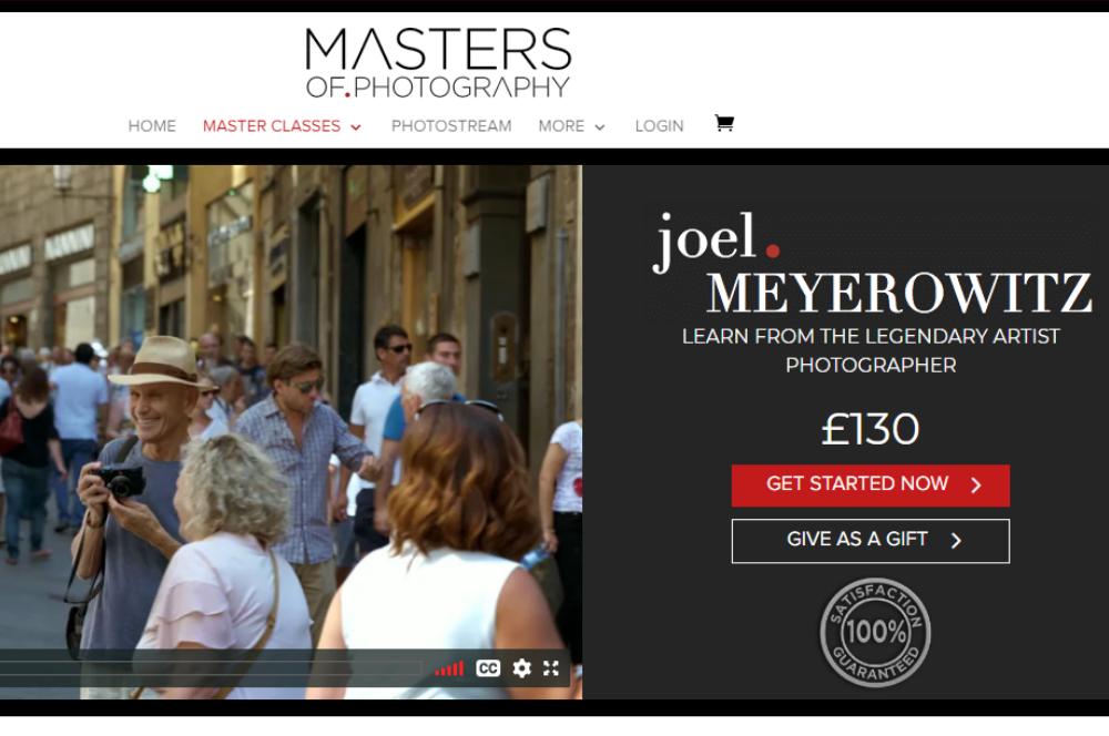 joel meyerowitz intro page masters of photography