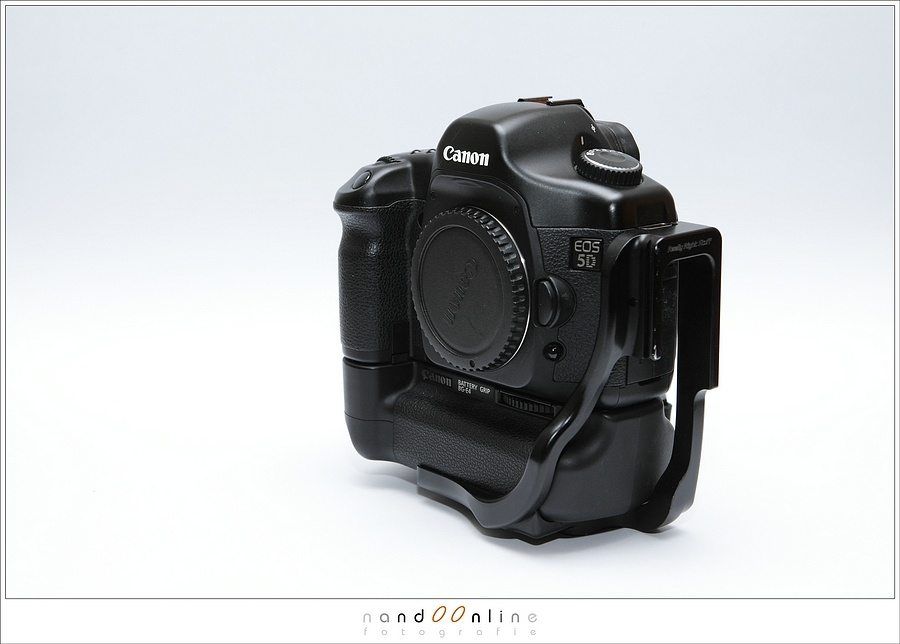 I used a Canon EOS 5D for a while, together with a battery grip. Once the RRS L-bracket was mounted, it never came off. Except when I needed to clean the camera.