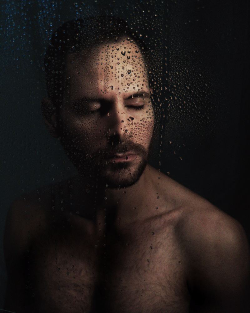 Man, portrait, medium closeup