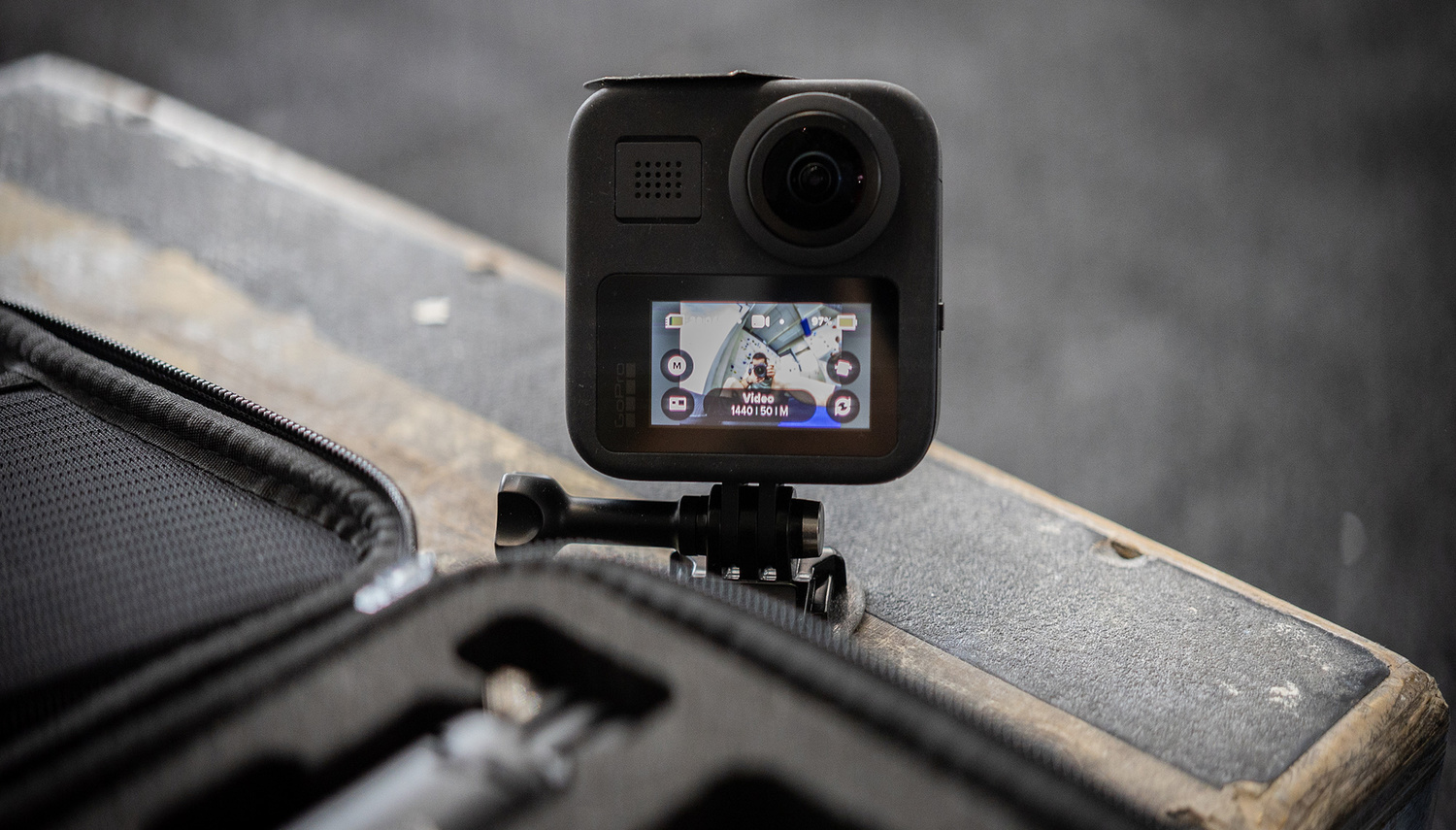 GoPro MAX with magnet
