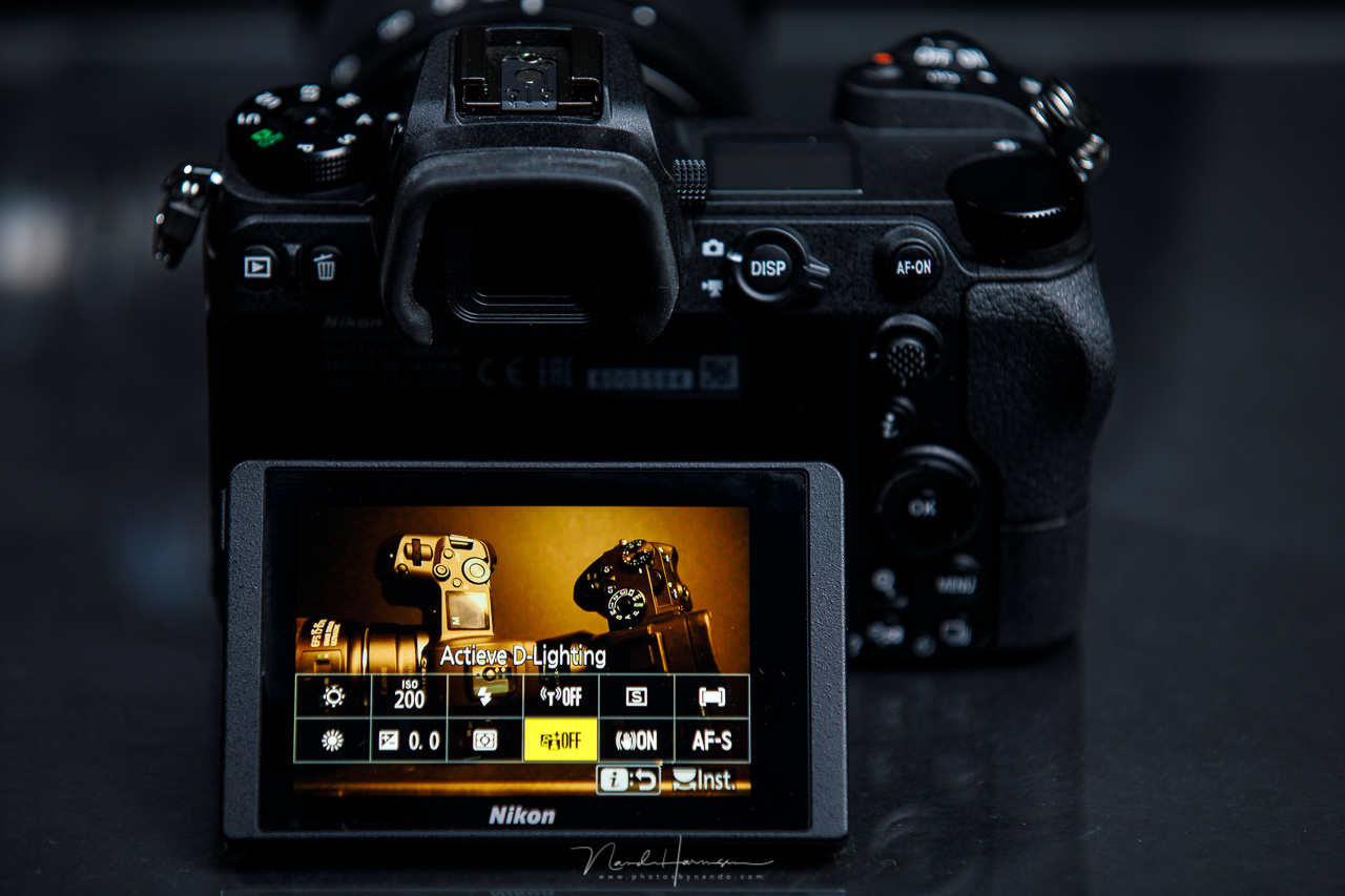 The Q menu of Nikon offers a place for twelve settings. You are able to change which settings you want to see in this menu. It makes it easy to change often used settings.