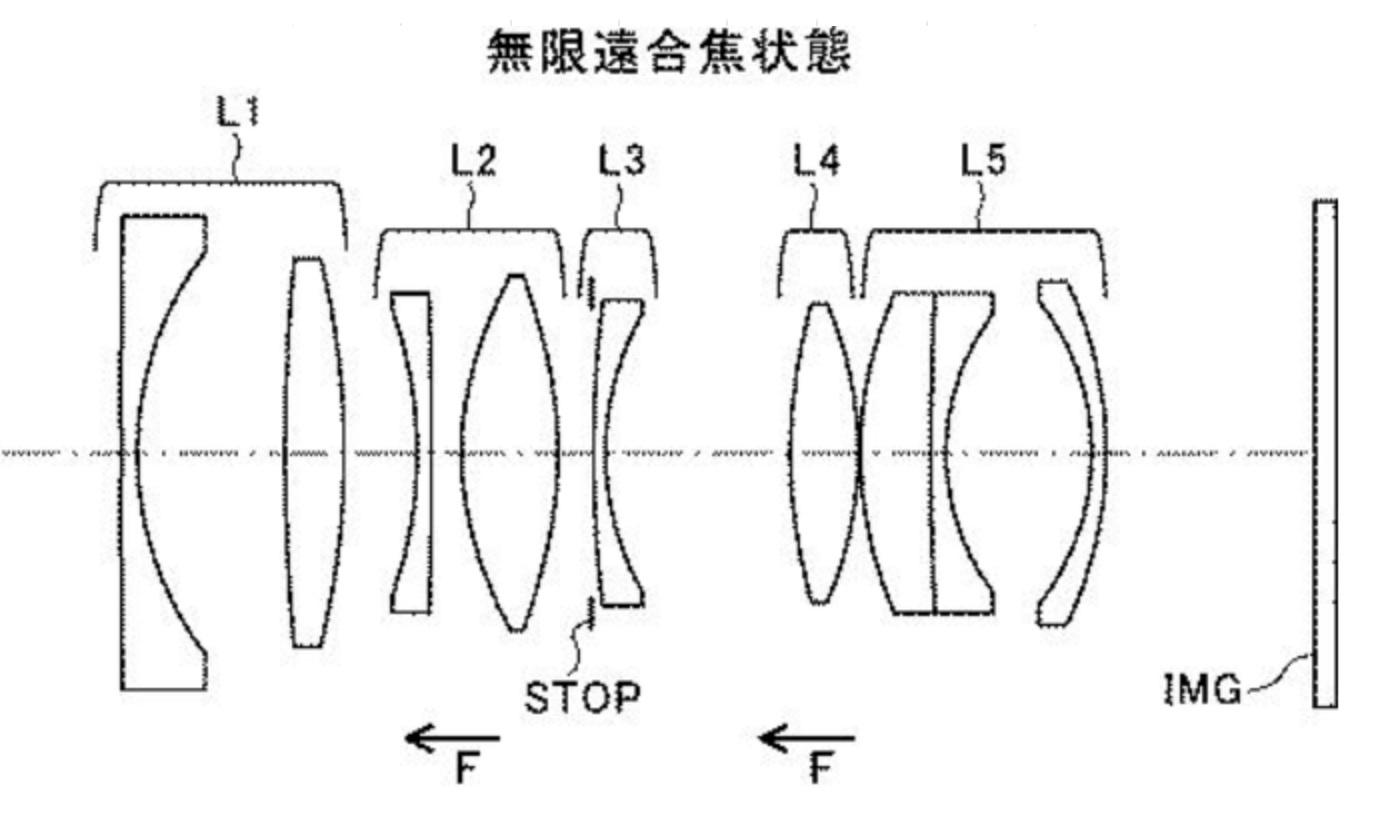 Tamron patent