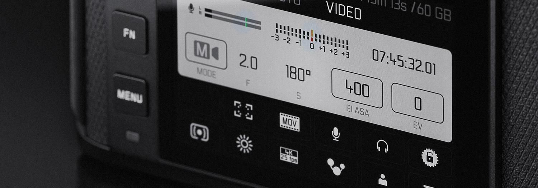 Leica SL2 interface