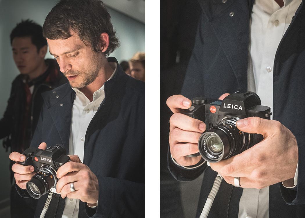 Monsieur Wouter du Toit not breaking the brand new Leica SL2.