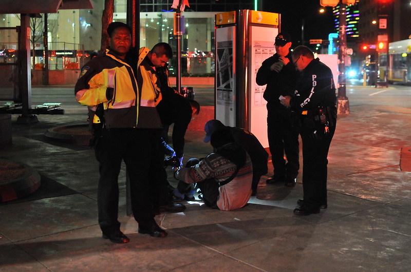 DART officers attending a K2 victim